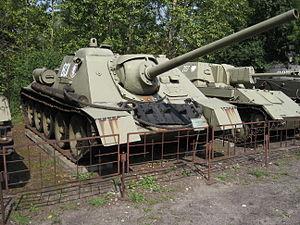 SU-85 - SU-85 tank destroyer in Polish Army Museum.