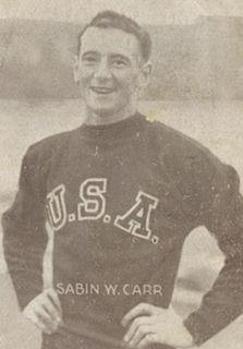 Sabin Carr athletics competitor