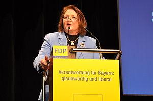 Sabine Leutheusser-Schnarrenberger, German pol...
