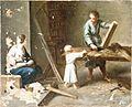 Sagrada Familia en el taller del carpintero (Real Academia de Bellas Artes de San Fernando).jpg