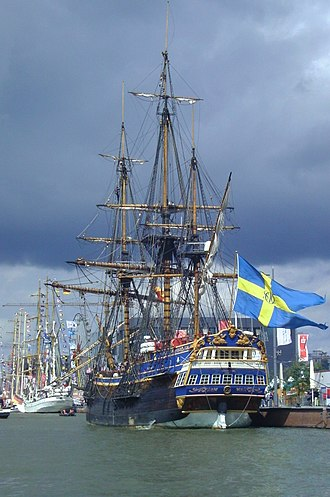 Sailing ship - Image: Sailing ship Götheborg (1)