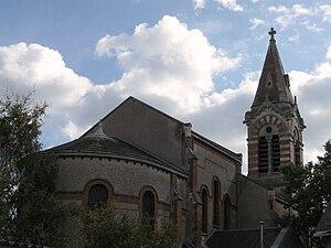 Saint-Jean-de-la-Ruelle - The church in Saint-Jean-de-la-Ruelle