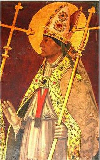Julian of Toledo - Image: Saint Julian of Toledo ost 19