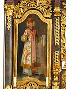 Saint Nicholas, patron saint of the Byzantine Rite