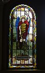 Saint Paul Catholic Church (Westerville, Ohio) - stained glass, arcade, Saint Michael.jpg