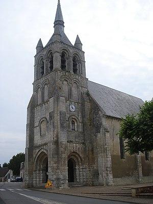 English: Sainte-Solange (Cher, Fr), roman church