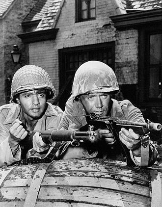 Combat! (TV series) - Sal Mineo and Vic Morrow in a 1965 episode