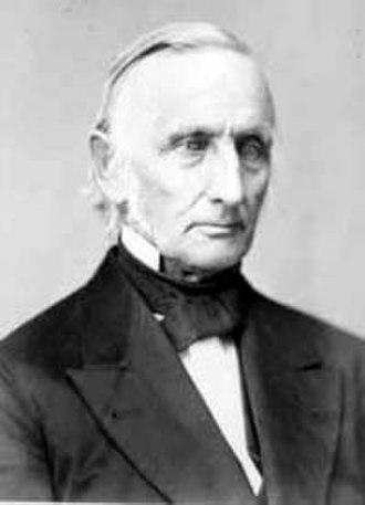 Gettysburg College - Samuel Simon Schmucker, Gettysburg College founder.