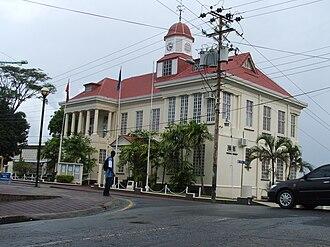 San Fernando, Trinidad and Tobago - San Fernando City Hall