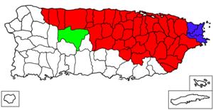 San Juan–Caguas–Guaynabo metropolitan area - Image: San Juan–Caguas–Fajardo Combined Statistical Area
