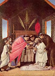 Sandro Botticelli: The Last Communion of Saint Jerome
