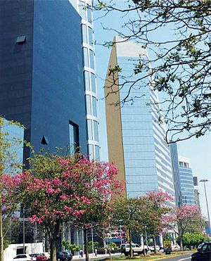 San Isidro is the business area of Lima.