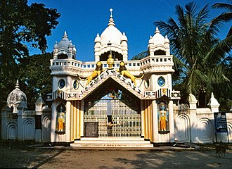Satra (Ekasarana Dharma) - Image: Sankardev Satra Patbausi, Barpeta