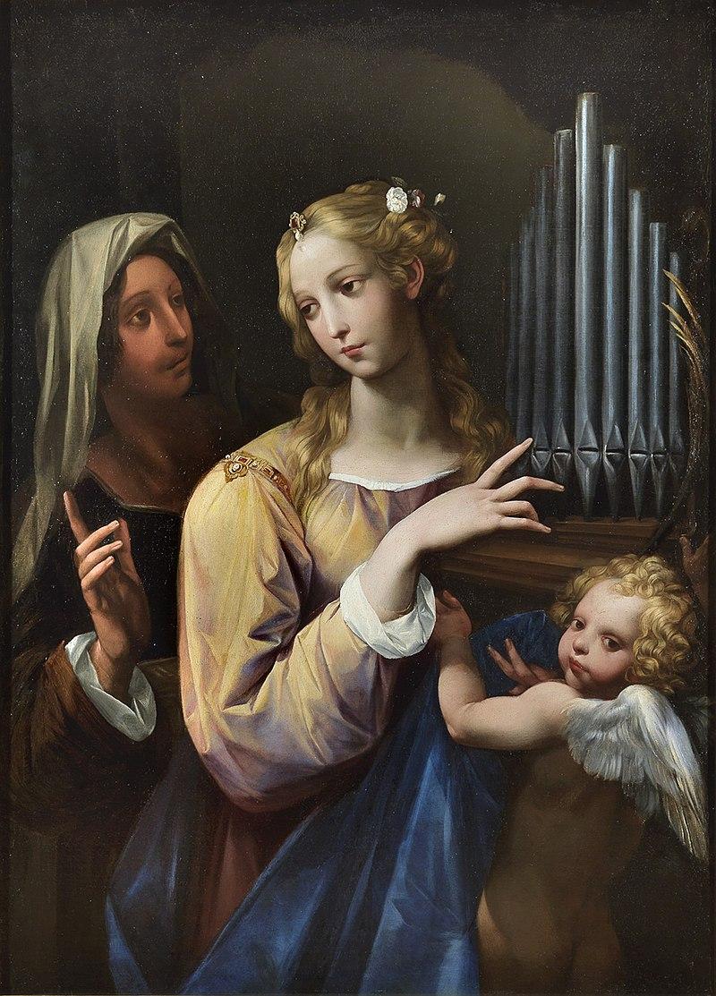 https://upload.wikimedia.org/wikipedia/commons/thumb/5/5d/Santa_Cecilia_che_suona_un_piccolo_organo.jpg/800px-Santa_Cecilia_che_suona_un_piccolo_organo.jpg