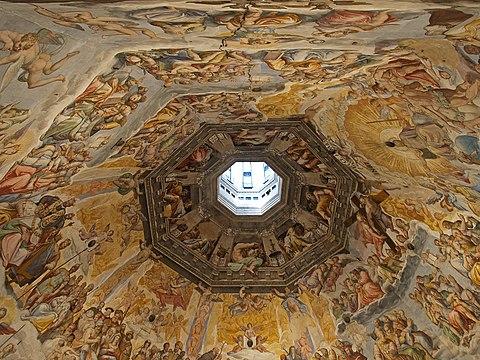 Santa Maria del Fiore cupola fresco central