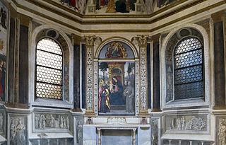 Basso Della Rovere Chapel (Santa Maria del Popolo)