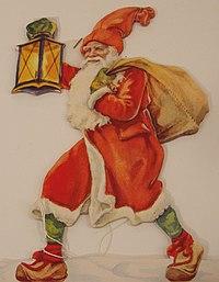Santa image, 19th century