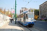 Sarajevo Tram-801 Line-3 2011-10-31.jpg