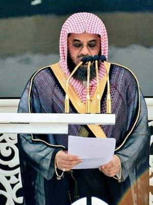 Saud Al-Shuraim - Saud Shuraim delivering the Jumu'ah Khutbah