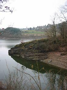 Øvre sûresøen er et reservoir i sûredalen