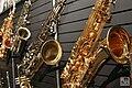 Saxophones - Expomusic 2014.jpg