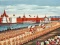 "Saya Chone's ""King Thibaw Leaving Mandalay"".png"