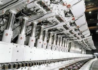 Longwall mining - Hydraulic chocks
