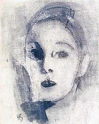 Schjerfbeck self portrait 1913 - 1926.jpg