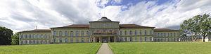 Hohenheim Castle - Image: Schloss Hohenheim pan pjt 1