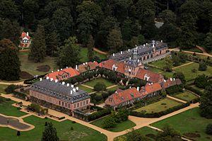 Donatus, Landgrave of Hesse - Image: Schloss Wolfsgarten Aerial fg 117
