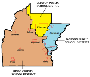Hinds County, Mississippi - Public School Districts in Hinds County