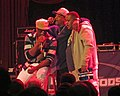 Schooly D and Chuck D at the House of Blues in Chicago.jpg