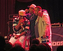 Schooly D amb Chuck D a The House of Blues, a Chicago.