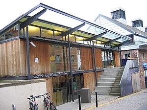Scottish Renaissance - Scottish Poetry Library, Crichton's Close, Edinburgh. The Scottish Renaissance revived interest in Scottish poetry