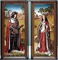 Scuola dei paesi bassi meridionali, ante del trittico di zierikzee, con filippo il bello e giovanna la pazza, 1495-1506 ca. 01.JPG
