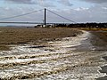 Sea size waves - on the River Humber^ - geograph.org.uk - 723244.jpg