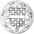 Seal RobertDeClifford 1stBaronDeClifford BaronsLetter1301.png