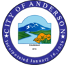 Official seal of Anderson