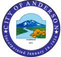 Seal of Anderson, California.png