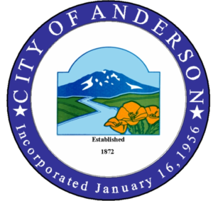 Anderson, California - Image: Seal of Anderson, California