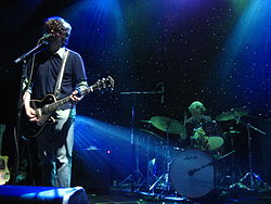 Sebadoh star background webster hall spot lights.JPG