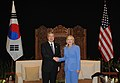 Secretary Clinton Meets With South Korean Foreign Minister Kim Sung-Hwan (5996800923).jpg