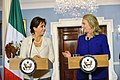 Secretary Clinton and Mexican Secretary of Foreign Relations Espinosa Address Reporters (8001543950).jpg