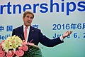 Secretary Kerry Addresses Attendees at an Ecopartnerships Event in Beijing (26935582664).jpg