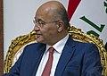 Secretary Pompeo Meets with Iraqi President Barham Salih (33922026888) (cropped).jpg