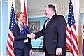 Secretary Pompeo shakes hands with Croatian FM Buric (44641772061).jpg