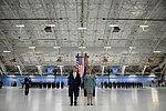 Secretary of Defense Ashton Carter and Secretary of the Air Force Deborah Lee James listen to the citation for her Distinguished Public Service award (32135441802).jpg