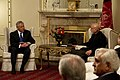 Secretary of Defense Chuck Hagel, left, meets with President of Afghanistan Hamid Karzai, right, in Kabul, Afghanistan, on March 10, 2013 130310-D-BW835-717.jpg