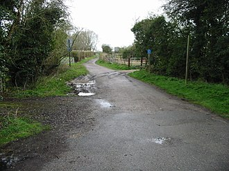 EV5 Via Romea Francigena - Image: Section of the cycleway between Canterbury and Whitstable. geograph.org.uk 751893