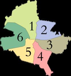 Settori amministrativi di Bucarest